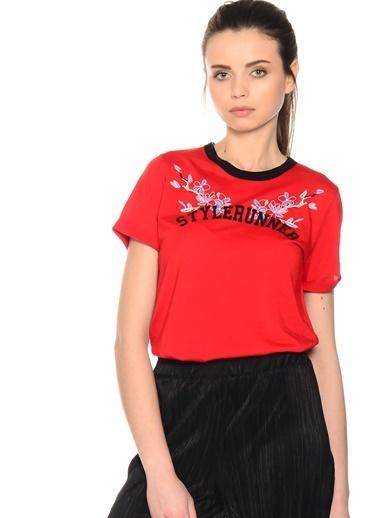 Black Pepper Tişört Kırmızı